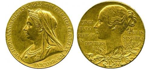 Victoria Diamond Jubilee medal