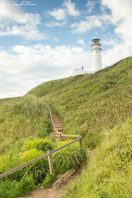 flamborough head lighthouse steps