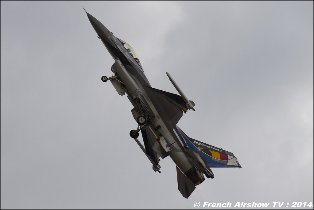 Belgian F16 Solo Display Team, Meeting Aerien BA-133 Nancy Ochey 2014