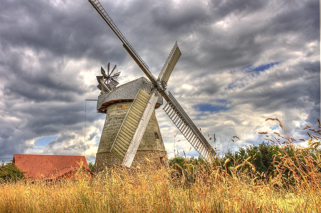 Windmill Eisbergen-Porta Westfalica-Germany