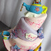 Alice in Wonderland Cake Topsy Turvy