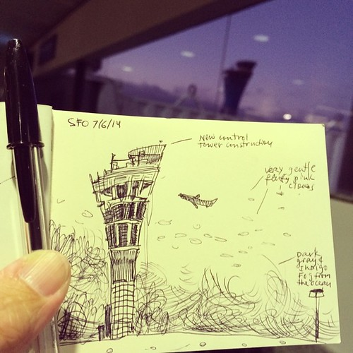 Traveling #sketchingwhilewaiting