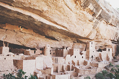 wall, cliff dwelling, formation, history, ruins, archaeological site,