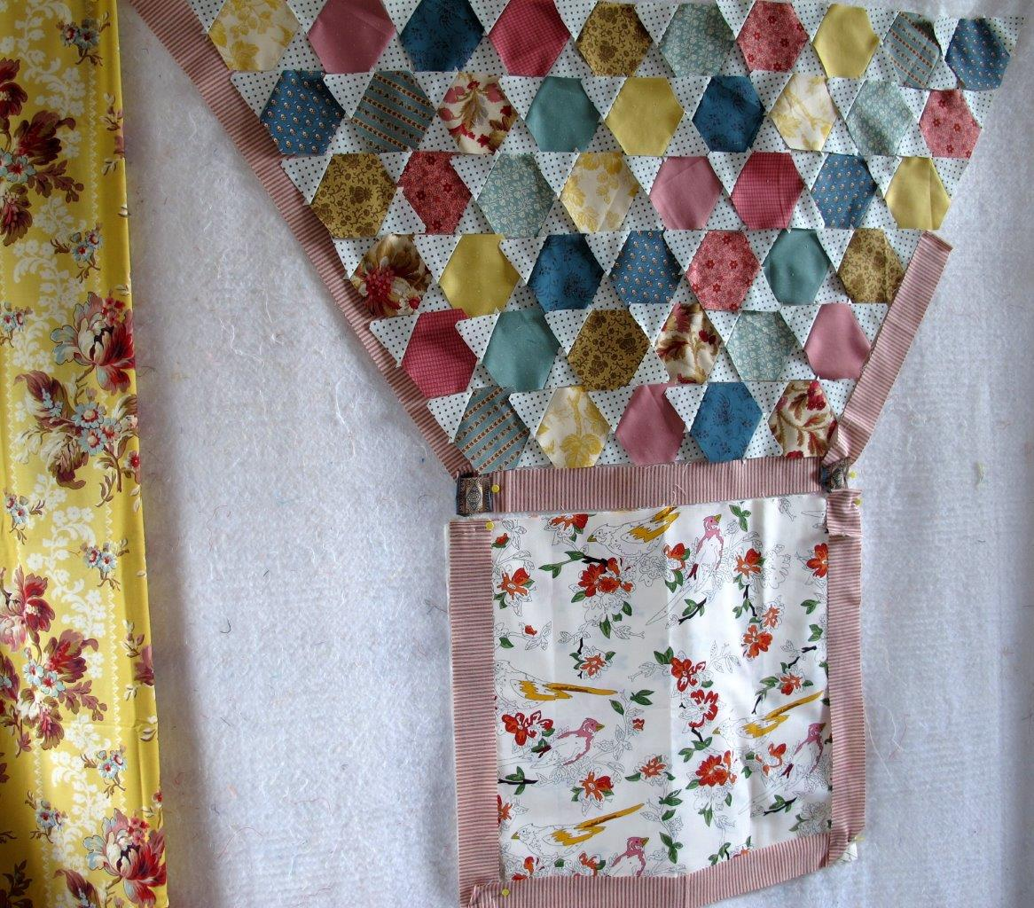 Using the Rigoletto method to make a quilt