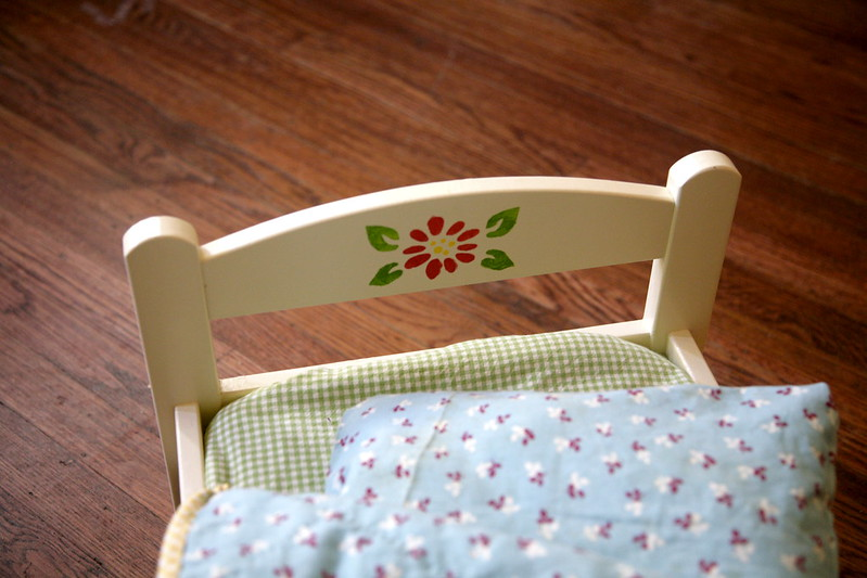 Ikea Doll Bed Makeover