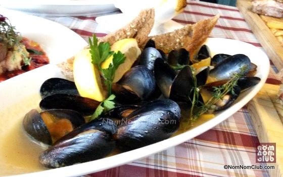 Beer Brineo Mussels