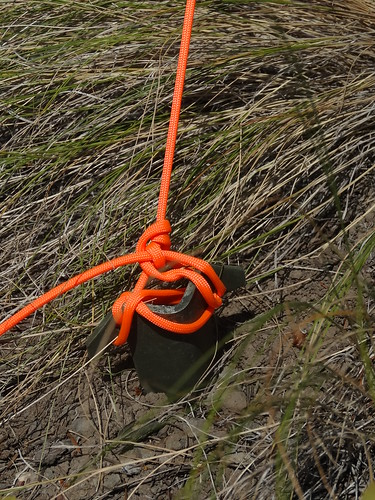QRP-NVIS-9 military surplus tent stakes - ears are useful for tying off