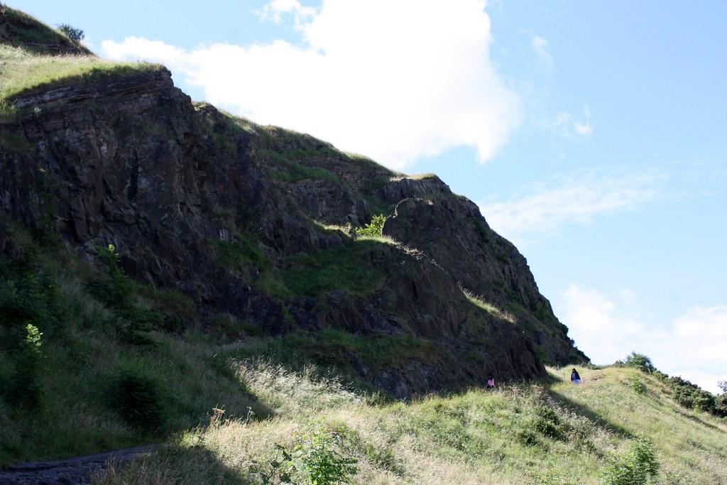 Edinburgh the hike up Arthur's Seat