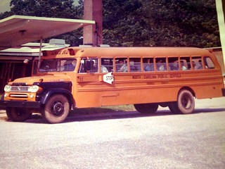 School Bus Photos From The 1940's, 1950's, And 1960's