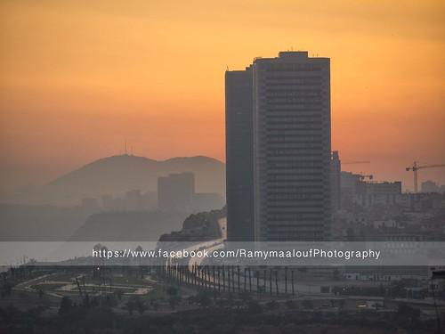 city building sunrise four lumix algeria soleil du panasonic micro algerie ville oran lever matin thirds argelia m43 g10 45200 wahran ouahran mirorless lumixg45200mmf456