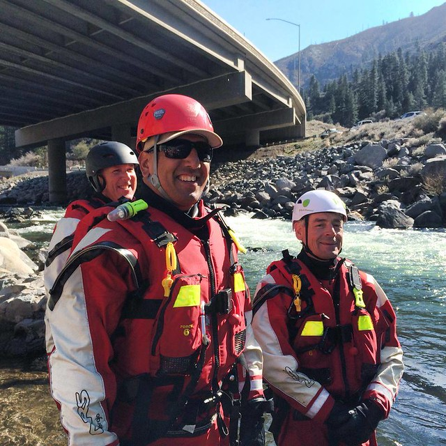 Swiftwater Rescue Training (photo courtesy of Specialized Rescue Inc.)