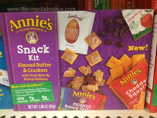 Annie's Almond Butter & Crackers Snack Kit