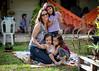 Luciana, Mari, Let e Anna Laura
