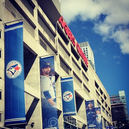 Rogers Centre #toronto #mlb #baseball #bluejays #kategoestocalifornia #pregameshow #vacation #travel