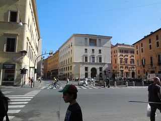 Fascist building at Piazza di Sant'Andrea della Valle