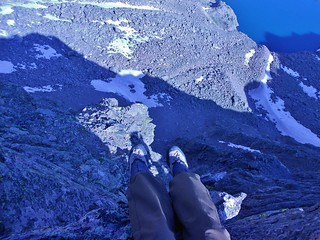 Foot Dangle from Halo Route