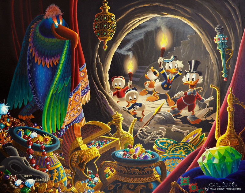 Carl Barks - Dangerous Discovery, 1974