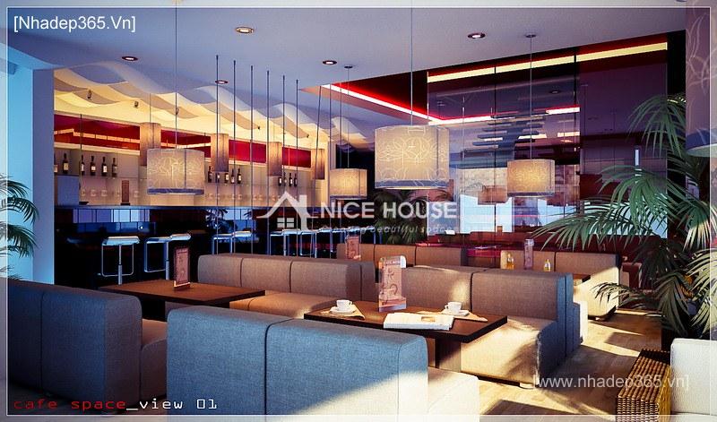 Thiết kế nội thất quán cafe NTC - Hà Nội_3
