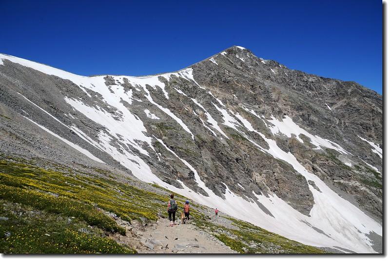 Torreys Peak from Grays' slope 2