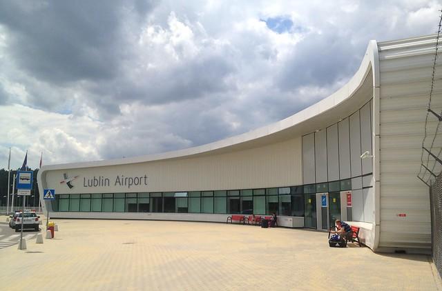 Lublin LUZ Airport terminal