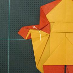 การพับกระดาษเป็นรูปปลาคาร์ฟ (Origami Koi Fish) 025