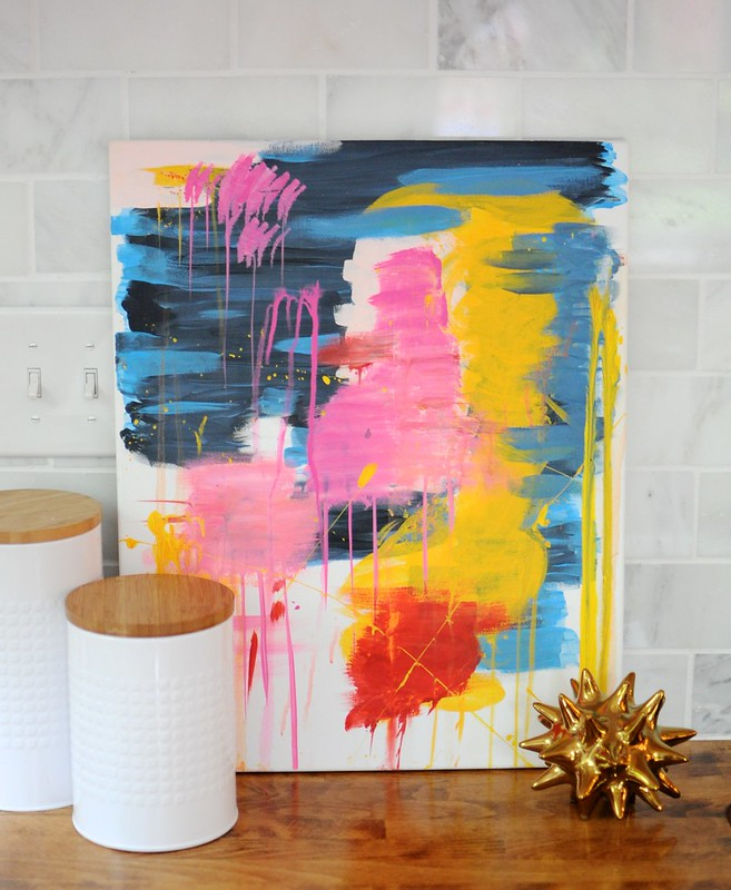 DIY Fail Abstract Painting