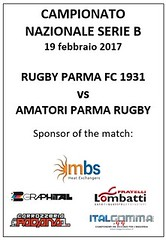 Locandina RPFC vs Amatori 19.02.07