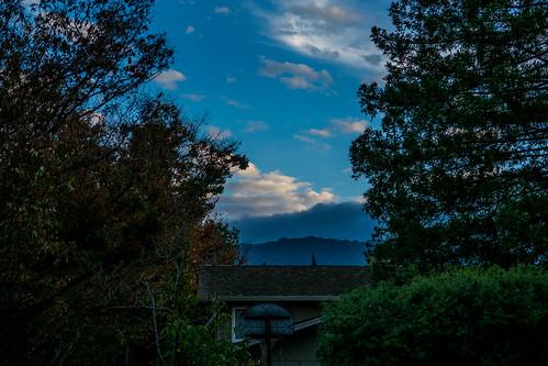 ca california nature sanjose sky outdoor evening trees clouds unitedstates us