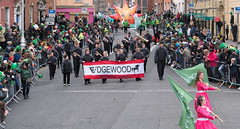 The Edgewood Marching Mustangs [St. Patricks Day Parade In Dublin - 2017]-126085