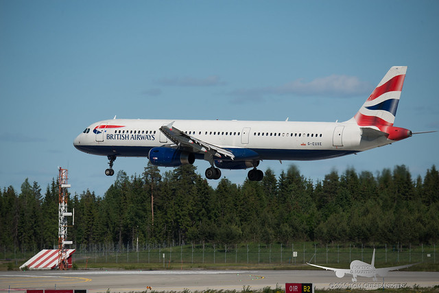 British Airways - G-EUXE - A321-200