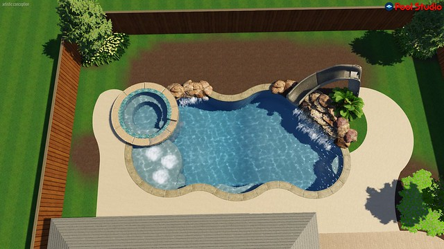 New Pool Build League City Tx