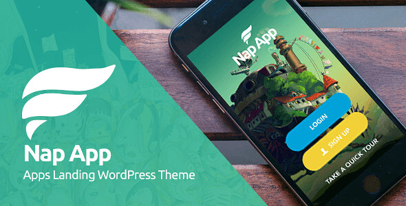 NapApp WordPress Theme free download