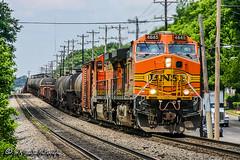 BNSF 4645 | GE C44-9W | NS Forrest Yard