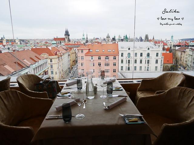 布拉格夜景景觀餐廳推薦洲際酒店晚餐 (4)