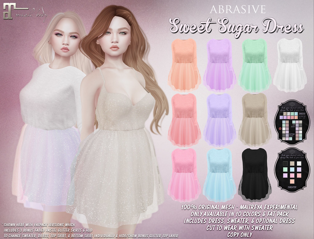 Sweet Sugar Dress @ March SaNaRae! - SecondLifeHub.com