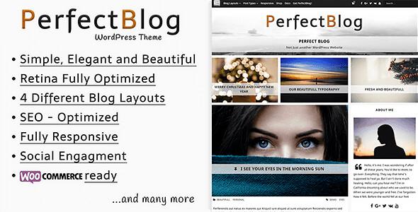PerfectBlog WordPress Theme free download