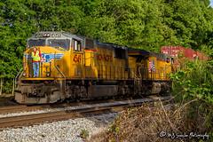 UP 4549 | EMD SD70M | NS Memphis District