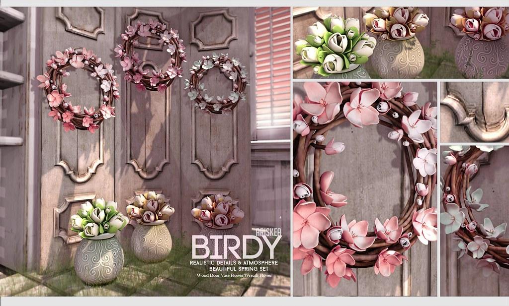 Fameshed - Birdy - Ariskea - SecondLifeHub.com
