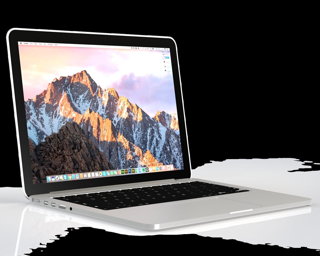 "Render MacBook Pro 13"" 2015"