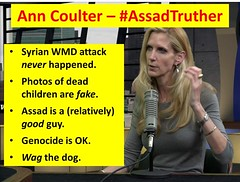 Ann Coulter – #AssadTruther