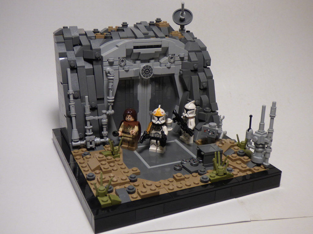 253rd Application-The Mission (custom built Lego model)