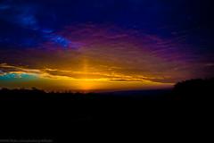 Sun setting in France ..
