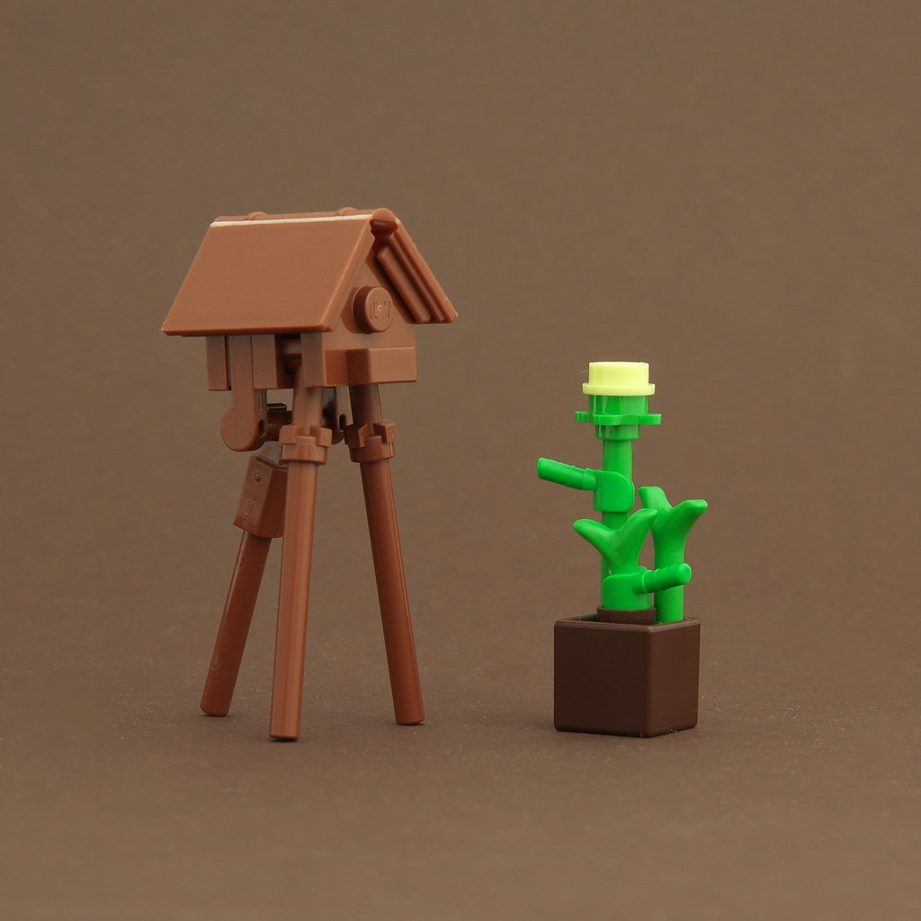 Birdhouse (custom built Lego model)