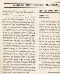 Gawler High School Year book 1937 P7 Institute Ball
