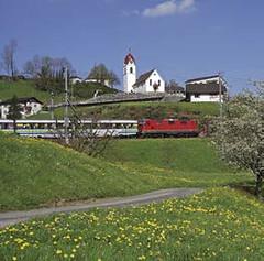 Cestování Švýcarskem– Voralpen-Express