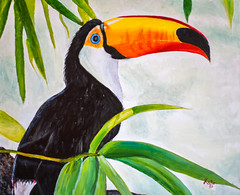 flower(0.0), animal(1.0), hornbill(1.0), yellow(1.0), toucan(1.0), fauna(1.0), illustration(1.0), beak(1.0), bird(1.0),