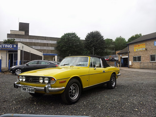Triumph Stag (Really wish I could have bought this)