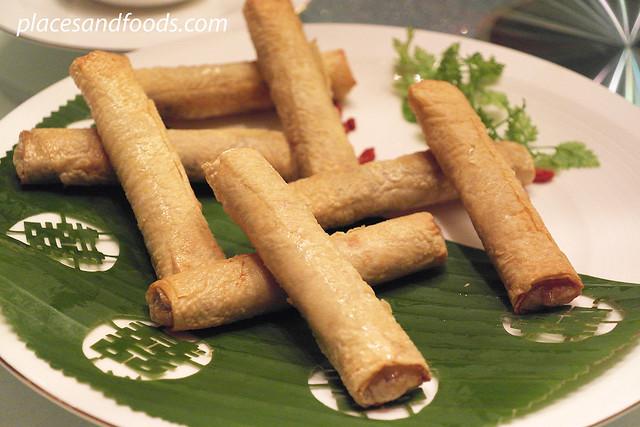 Canton 喜粵Venetian Macau-Resort-Hotel vegetable rolls