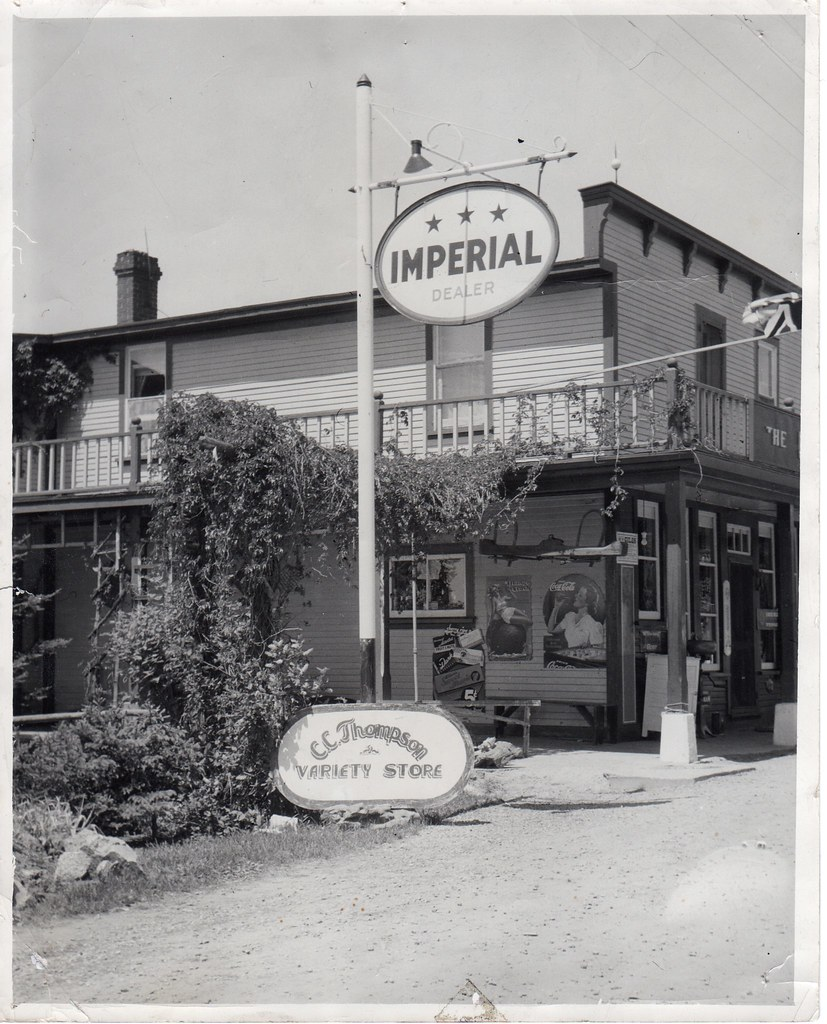 C.C. Thompson Variety Store, Northbrook, Ontario