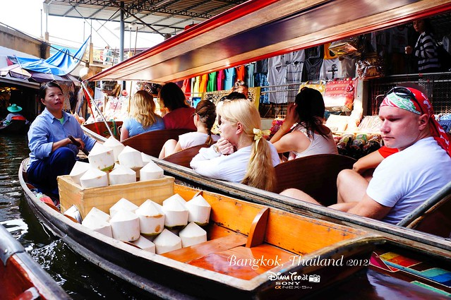 Day 4 Bangkok, Thailand - Damnoen Saduak Floating Market 04